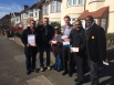 Out on the #LabourDoorstep in Marks Gate